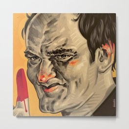 QUENTIN ZOOM Metal Print