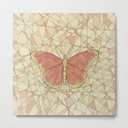 Butterfly free2 Metal Print