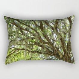 Live Oak in Springtime Rectangular Pillow