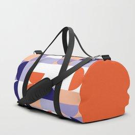 Minimal Bauhaus Semi Circle Geometric Pattern 1 - #bauhaus #minimalist Duffle Bag