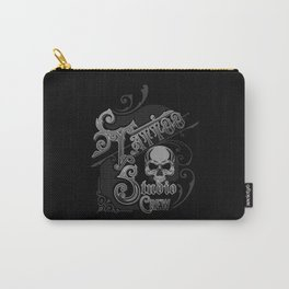 Vintage Skull Tattoo Studio Designs By InkedStar Carry-All Pouch