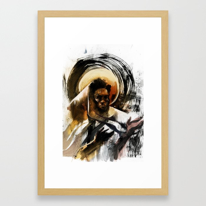 Black Messiah Framed Art Print