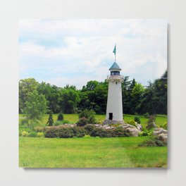 Hershey's Lighthouse Metal Print