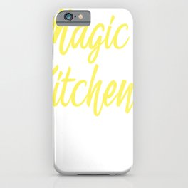 Chef Cook Cooking Utensils Magic in Kitchen Gift iPhone Case