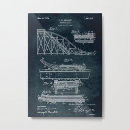 1922 - Toboggan Slide Metal Print