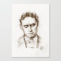 fitzgerald Canvas Prints featuring Fitzgerald by Hash