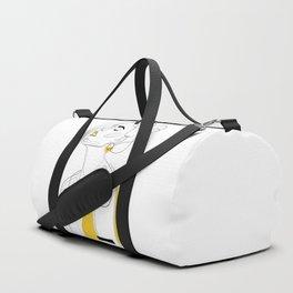 Yellow Lip Duffle Bag