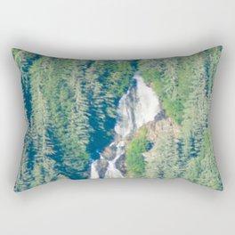 Mountain Falls - 3 Rectangular Pillow