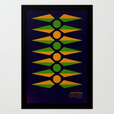 Rotational Symmetry Art Print