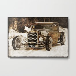 The Pixeleye - Special Edition Hot Rod Series IV Metal Print