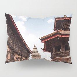 kathamandu temple Pillow Sham