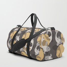 Koi fish pattern 003 Duffle Bag