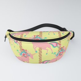 Pink Unicorn Carousel Fanny Pack