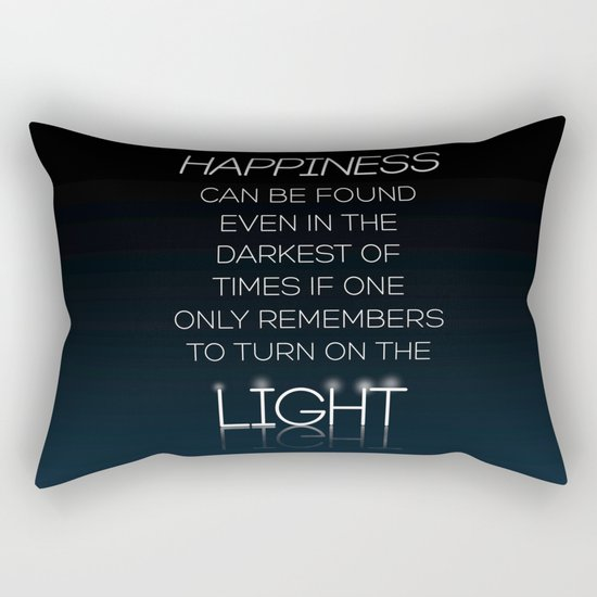 Harry Potter Albus Dumbledore Quote Rectangular Pillow