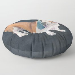 Basset Hound Floor Pillow