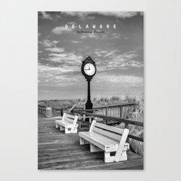 Bethany Beach Delaware. Canvas Print