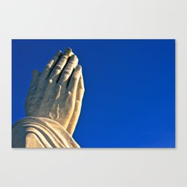 The Day's Final Prayer Canvas Print