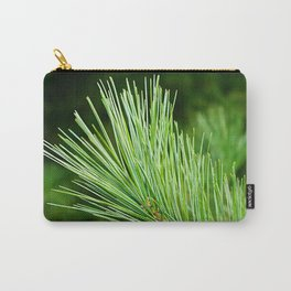 White pine branch Carry-All Pouch