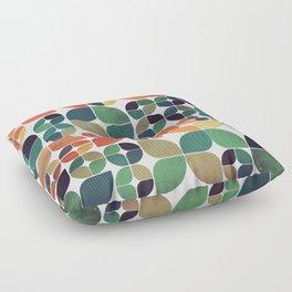 Vintage Fall Pattern Floor Pillow