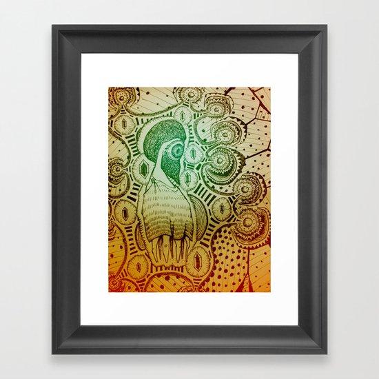 Gilded Dream Framed Art Print