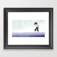Tread Lightly Framed Art Print