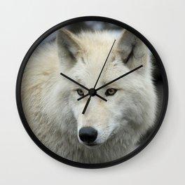 Wolf_013_by_JAMFoto Wall Clock