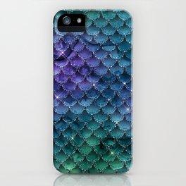 Mermaid Glitter iPhone Case
