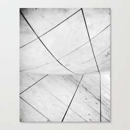 WHITEOUT: chicago disoriented Canvas Print