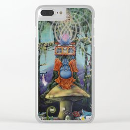 Forest Melody Clear iPhone Case