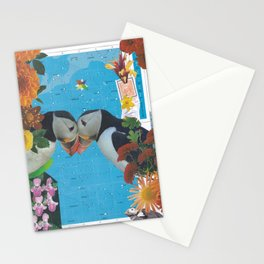Lovers In the Sky Stationery Cards