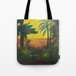 Day in the wetlands Tote Bag