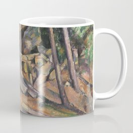 Millstone in the Park of the Château Noir Coffee Mug