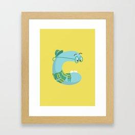letter C Framed Art Print