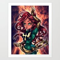 cassandra jean Art Prints featuring Jean by Tim Shumate