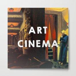 New York Movie (1939), Edward Hopper // Art Cinema Metal Print