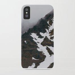 Mount Ruapehu Peak iPhone Case