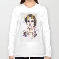lana Long Sleeve T-shirts featuring Lana by Kim Maria Morrow
