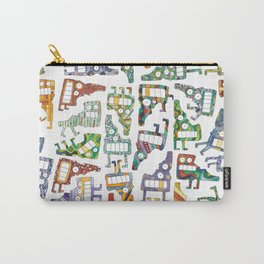 Idaho Tetris Painting Carry-All Pouch