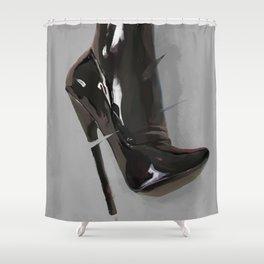 High Heel Shower Curtains