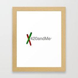 420andMe® Framed Art Print