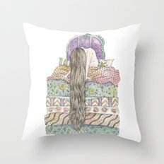 Beatrice Wakes Up After 18 Years... Throw Pillow