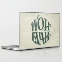 whatever Laptop & iPad Skins featuring Whatever by MrRed