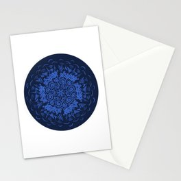 Zendala Blue and Lilac Stationery Cards