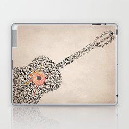 Guitar Notes Laptop & iPad Skin