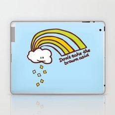 Don't take the brown acid Laptop & iPad Skin