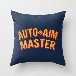 Auto-aim Master Throw Pillow