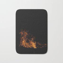 Fire Drake of the North Bath Mat