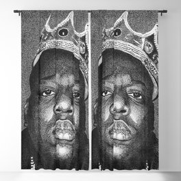 Biggie Smalls Blackout Curtain