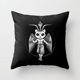Cathomet Throw Pillow