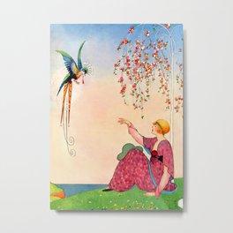 George Wolfe Plank Art Deco Magazine Cover 14 Metal Print